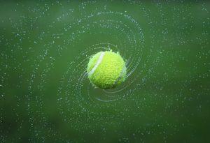 Pozadie tenisu